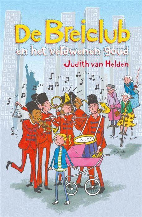 De Breiclub en het verdwenen goud, geschreven door Judith van Helden. Een boek wat ik mocht recenseren voor Kwintessens. Judith van Helden heeft al verschillende kinderboeken op haar naam staan, zoals de series van de Slimbo's en de smaakmakers.   #breiclub #kinderboeken #kwintessens #lezen #New York