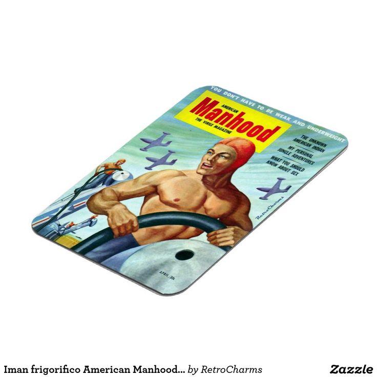 Iman frigorifico American Manhood Vintage