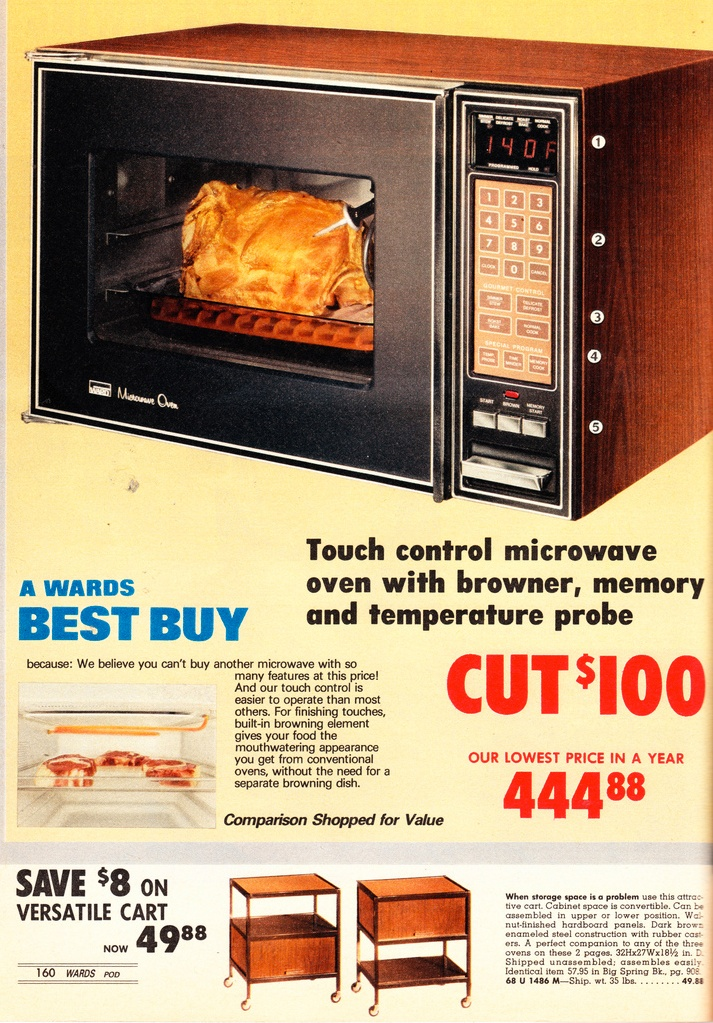 1978 Montgomery Ward catalog — Look at the price tag on that bad boy! In today's dollars that's a whopping $ 1,513!