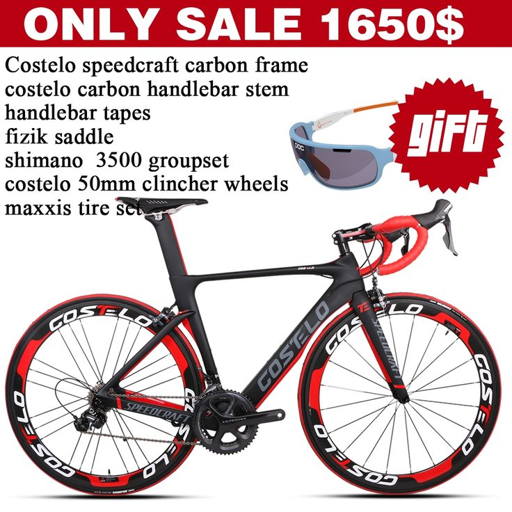 575.00$  Watch now - http://aicfd.worlditems.win/all/product.php?id=32598762431 - Only sale 1650$ Costelo speedcraft carbon road bicycle complete bikes wheel groupset saddle bicicleta carbono carbon bicycle