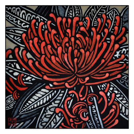 Tree Waratah Archival Print - COUNTRY CULTURE $79