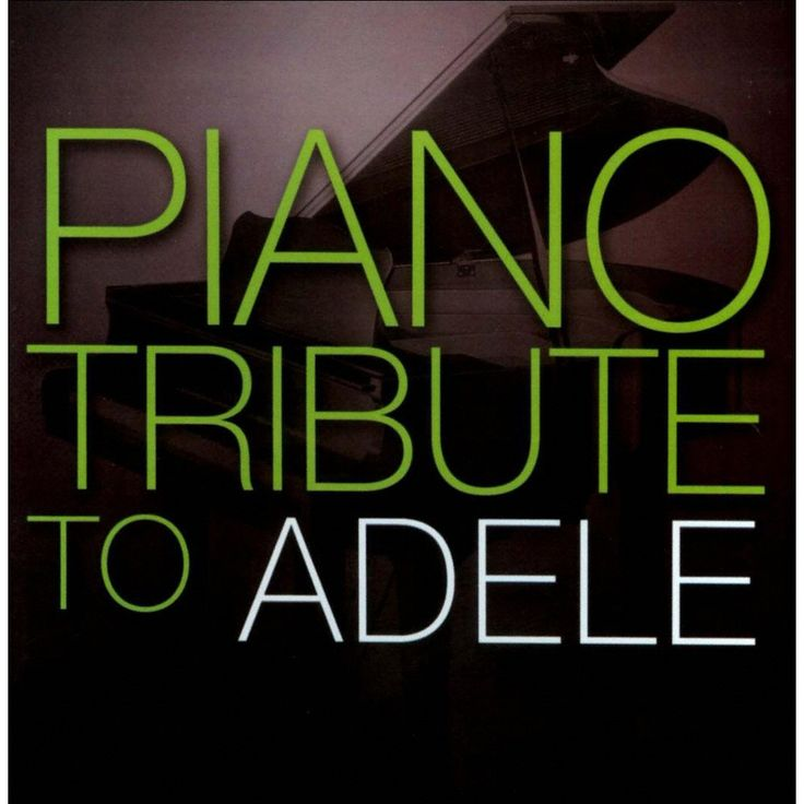 The Piano Tribute Players - Piano Tribute to Adele (CD)