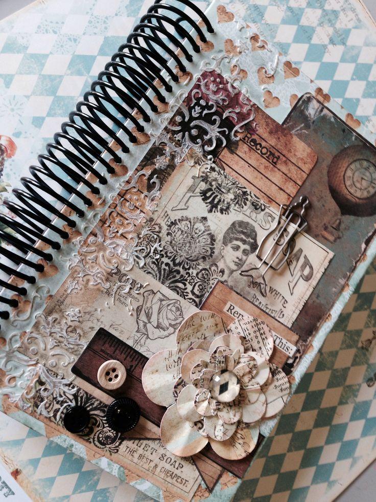 Agenda personalizada scrapbook 2014