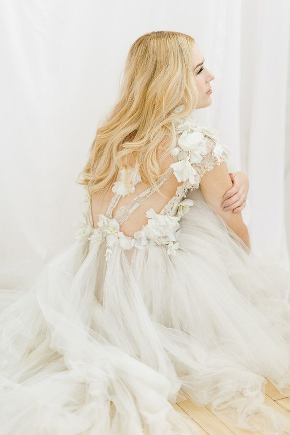 Best 25 ethereal wedding dress ideas on pinterest tulle for Romantic ethereal wedding dresses