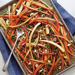 Party sides: Balsamic-roasted carrots and parsnips
