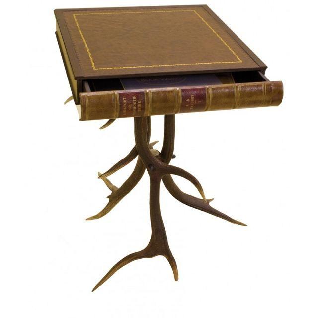 Scottish Deer Antler Table