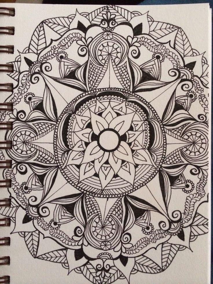 Micron pen, strathmore visual journal