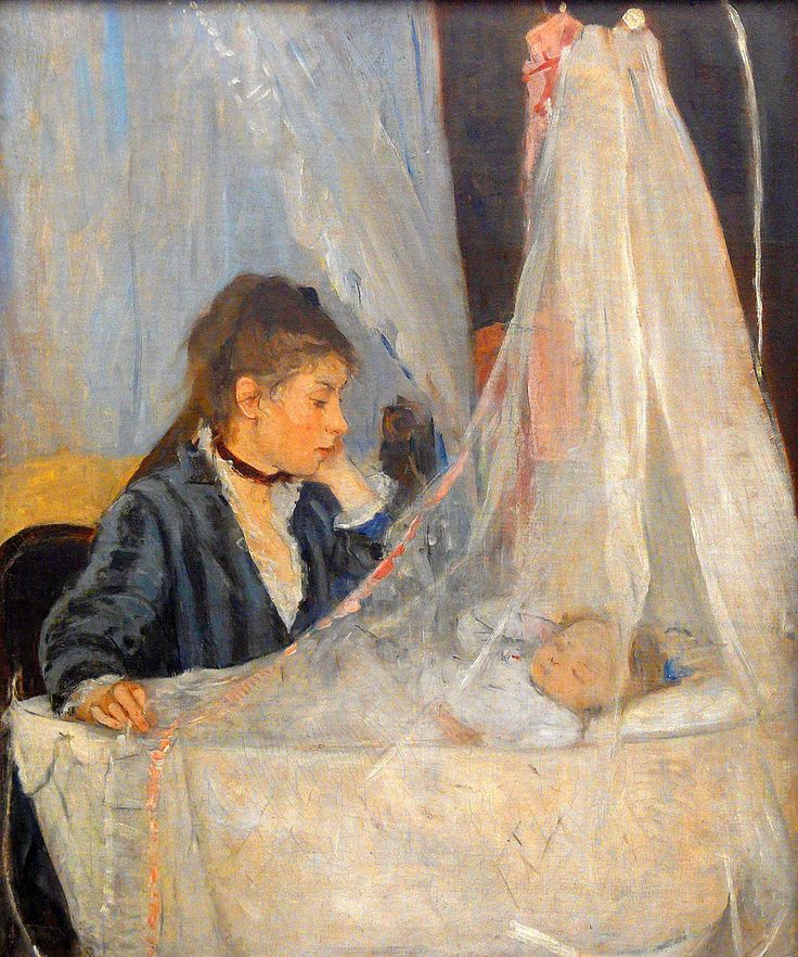 Berthe Morisot ~ I had this picture in my Violet's room when she was a baby.