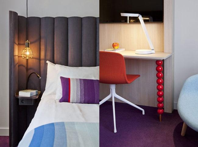 Clarion Hotel Kompaniet, Sweden Hotel Suites. Concept, floor plans and Interior Architecture