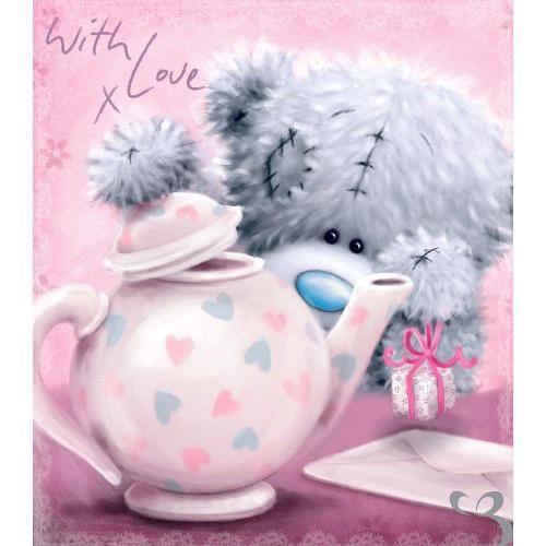 Tatty Teddy with Teapot