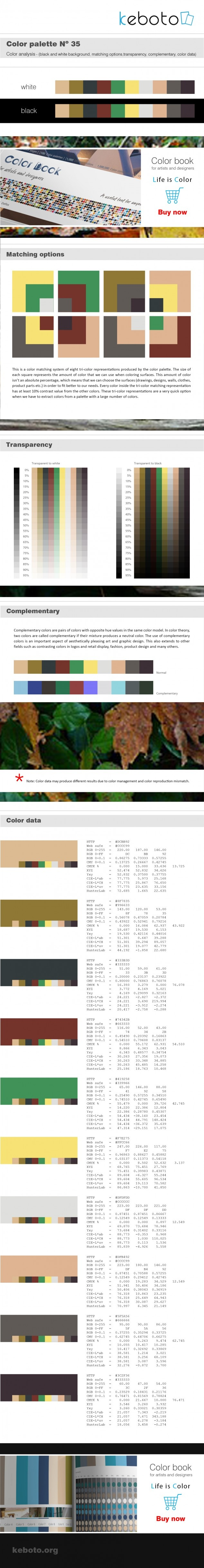 Keboto - Color Palette Νο35