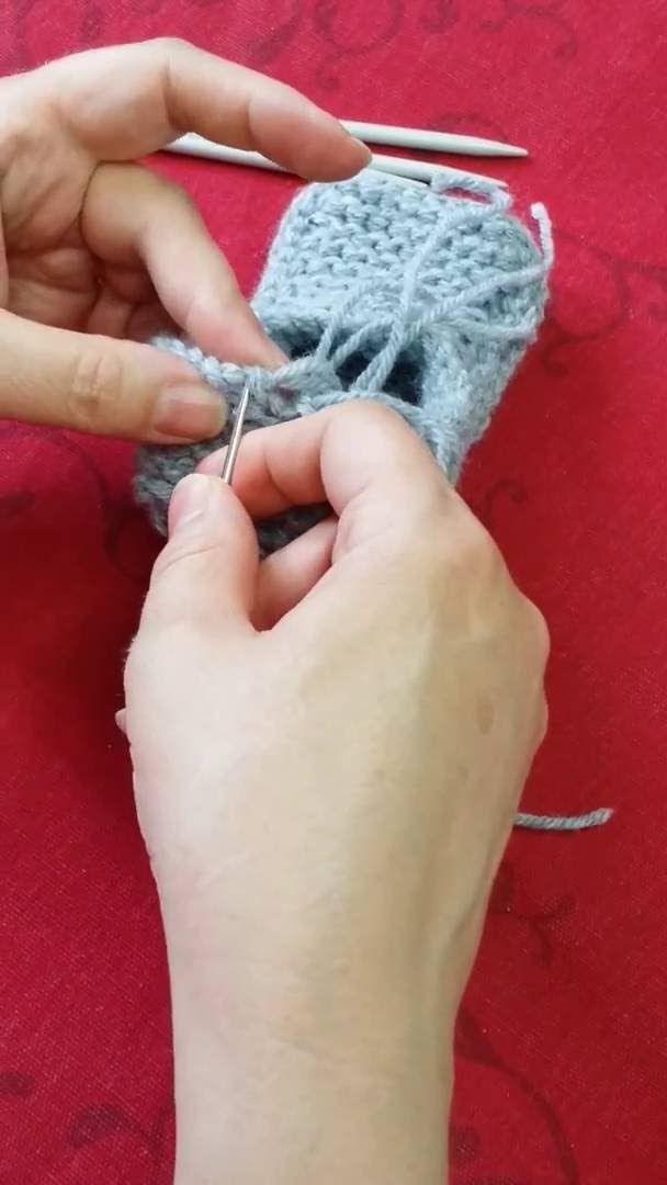 Les 771 meilleures images propos de crochet tricot pantoufles sur pinterest chaussures - Changer de couleur tricot ...