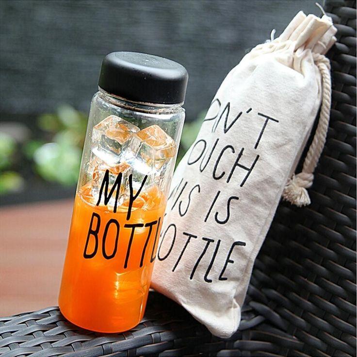. Botol trendy yang lagi banyak dicari di KOREA JEPANG dan CINA!! Ayo sebelum banyak yang pake biar kamu jadi trendsetter!! Baru kejual 863 botol nih -------------------- KEREN untuk: Olahraga infused water Dijual lagi  Sebagai hadiah  Hadiah buat anak -------------------- -HARGA: 69.000 -WARNA: HITAM PUTIH BIRU KUNING HIJAU PINK -material : Tritan (BPA Free) -Diameter : 6.5cm -Height : 19.5cm -Volume : 450ml - 500ml -Usage Temperature : -40  100 -No microwave -Include penahan supaya ketika…