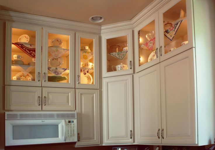 10 Kitchen Cabinet Tips: Double Stacked Kitchen Cabinets