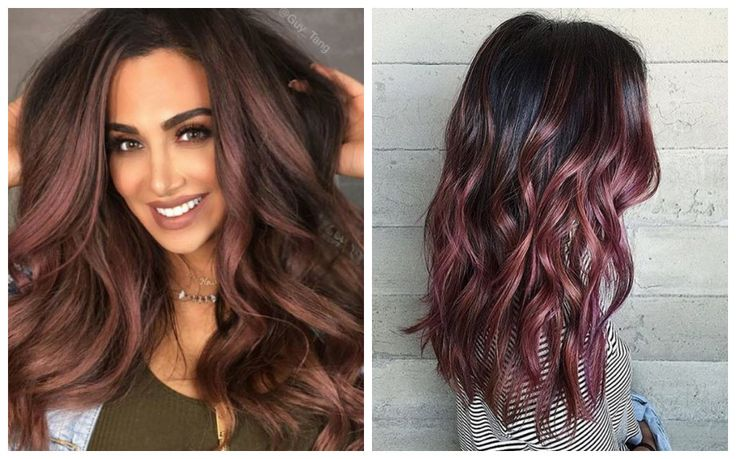 1000 Images About Cabello On Pinterest Dark Purple Hair