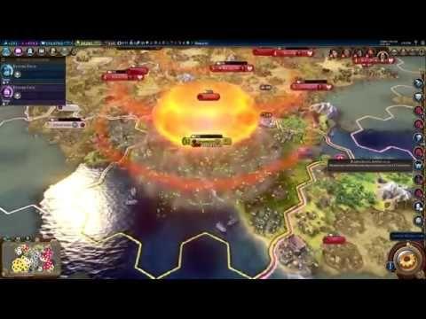 Using 68 nukes #CivilizationBeyondEarth #gaming #Civilization #games