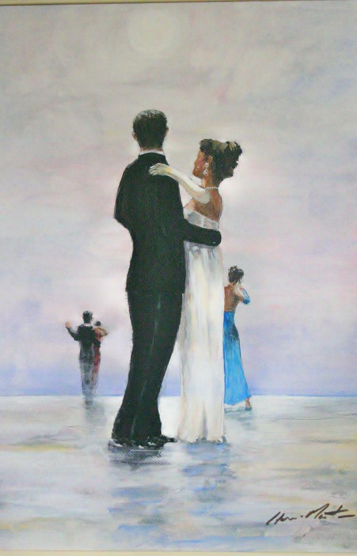 Tribute to Vettriano    Original Painting