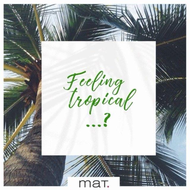 🌤🌧Ήλιος-βροχή.. και πάλι ήλιος! Έχουμε την μπλούζα που ταιριάζει με τον.. τροπικό καιρό μας & την ανοιξιάτική μας διάθεση! Βρες το t-shirt με το παιχνιδιάρικο exotic μοτίβο [code: 671.1369] #matfashion #tropical #realsize #tropicana #ootd #fashion #style