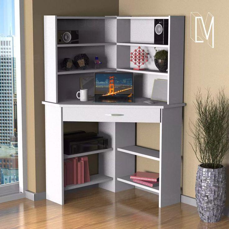 Las 25 mejores ideas sobre escritorio esquinero en pinterest y m s escritorios peque os small - Imagenes de muebles esquineros ...