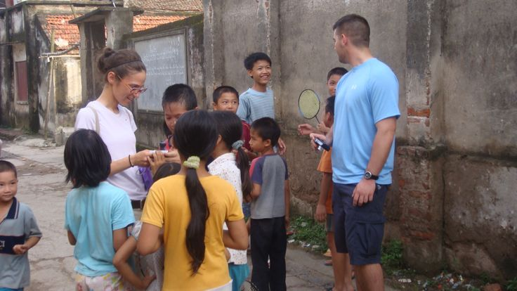 A quiet moment with the locals. #VietnamHomestay #ServiceWorkVietnam #VietnamSchoolTours #PaddyHomeDongTrieu