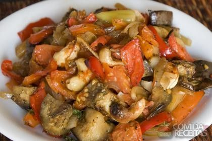 Receita de Antepasto de berinjela - Comida e Receitas