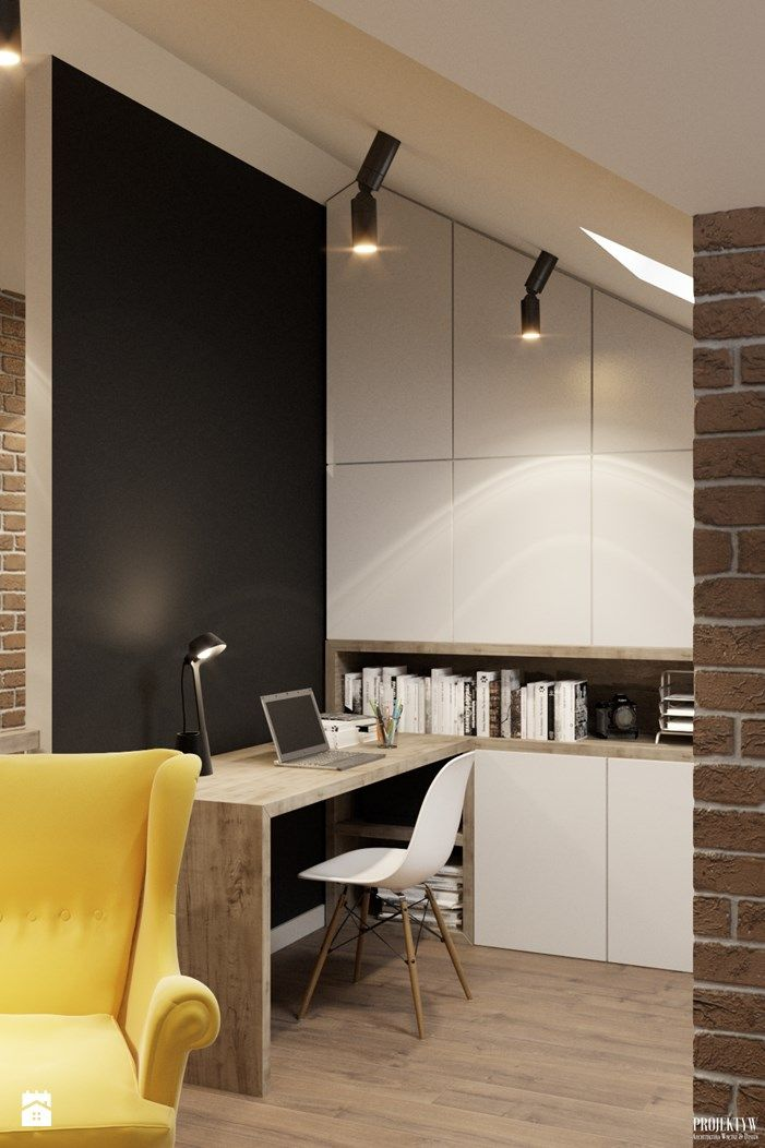 Wystrój wnętrz - Biuro - pomysły na aranżacje. Projekty, które stanowią prawdziwe inspiracje dla każdego, dla kogo liczy się dobry design, oryginalny styl i nieprzeciętne rozwiązania w nowoczesnym projektowaniu i dekorowaniu wnętrz. Obejrzyj zdjęcia! - strona: 2