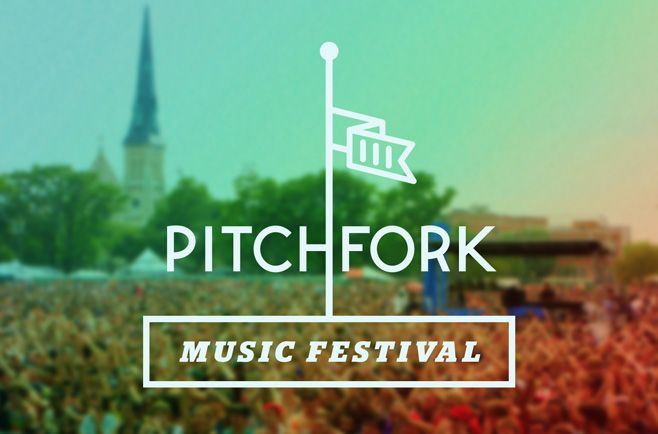 Nice site but mixture of styles are confusing  http://pitchforkmusicfestival.com/