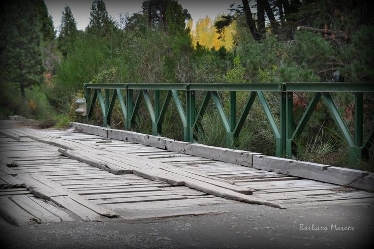 Puente a Colonia Suiza - Bariloche - Argentina