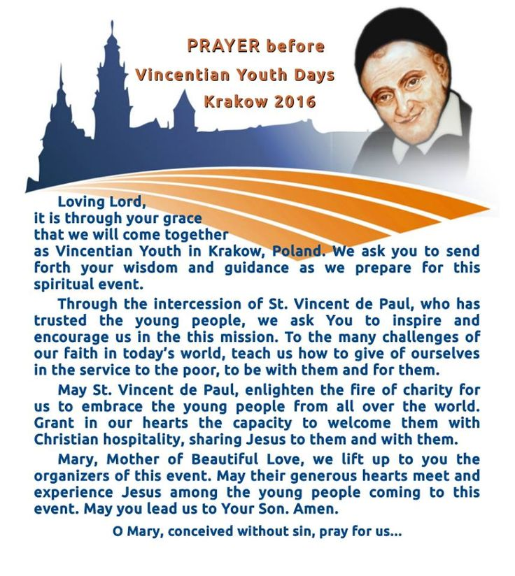 [ENG] Prayer prior to 2016 Vincentian Youth Meeting in Krakow. #VYM2016 #WYD2016