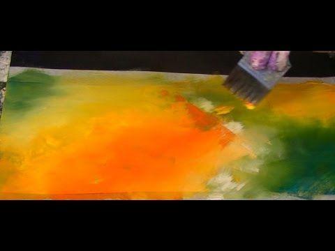 Acrylmalerei, Tutorial, Kaffee und Farbe, coffee and colour - YouTube