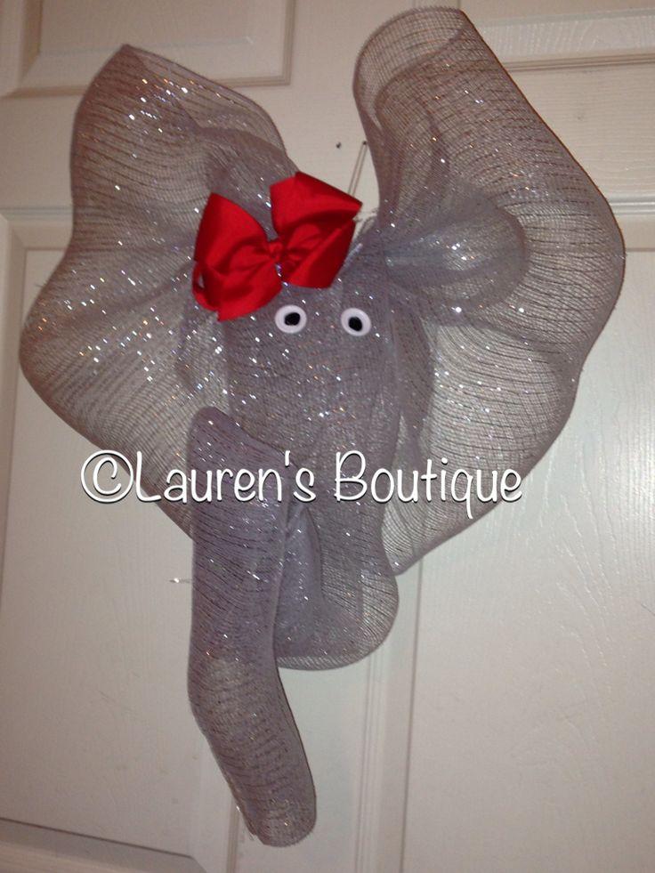 23 best images about elephants on pinterest crochet elephant toys and deco mesh. Black Bedroom Furniture Sets. Home Design Ideas
