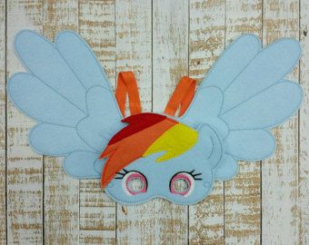 My Little Pony felt Mask Pinkie Pie Applejack by MTBrownBear