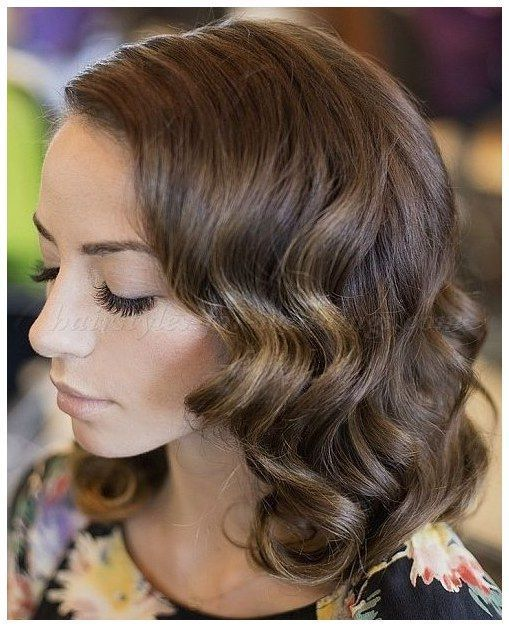 Longwavyhair Wavylayeredhair Wedding Hairstyles For Medium Length
