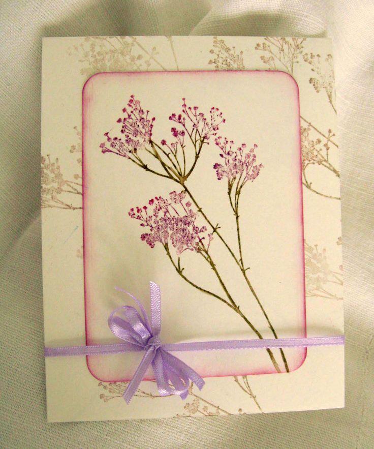 Invito floreale lilla