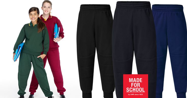 Our Wills Fleecy Double Knee Cuff Track Pants were designed for the kids to grow overnight and are tough on their knees - perfect for beating the chill in winter.