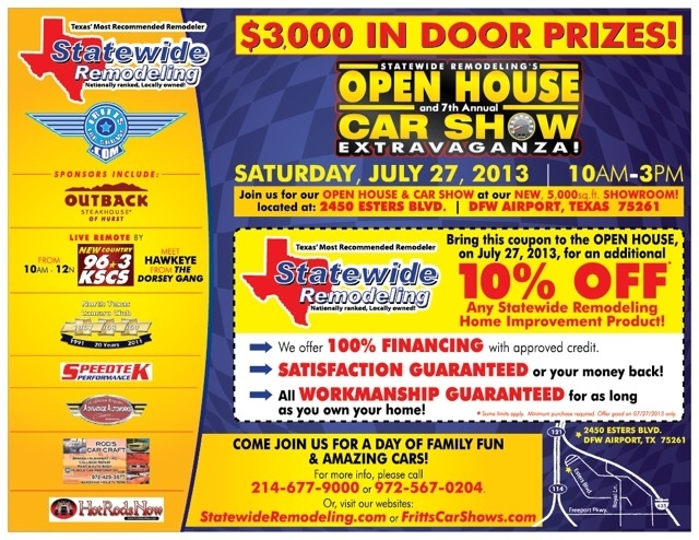 Statewide Remodeling 7th Annual Car Show & Open House