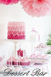 """""""An increasingly popular wedding trend is the candy buffet or confection bar. This consists of a variety of candies or treats placed in varied sizes of glass containers and grouped on a table. Pretty silver spoons or scoops in each container allows guests to fill small boxes or bags as take-home favors."""""""