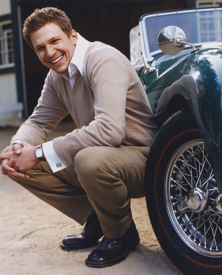 "Harrison ""Guy"" Pike, played by Marc Blucas"