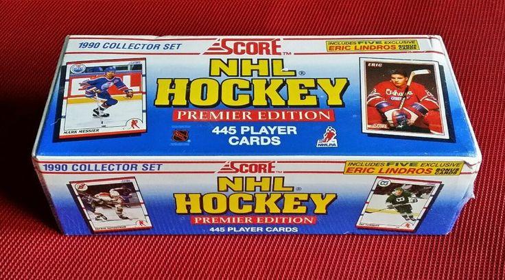 NIB Sealed 1990 Collector Set SCORE NHL Hockey Premier Edition 445 Player Cards