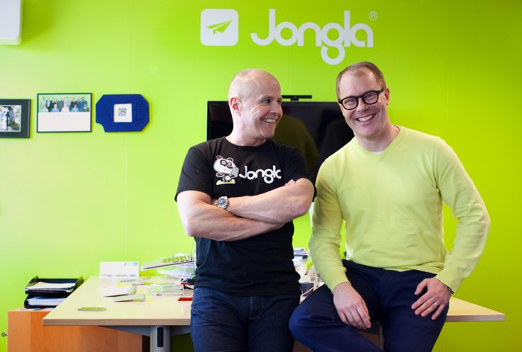 Jongla founder Arto and CEO Riku
