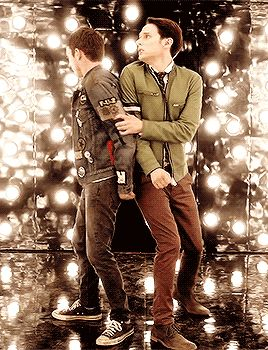 "Dirk and Todd| Dirk Gently's Holistic Detective Agency ""Watkin"" (1x04) #EscapeRoom"