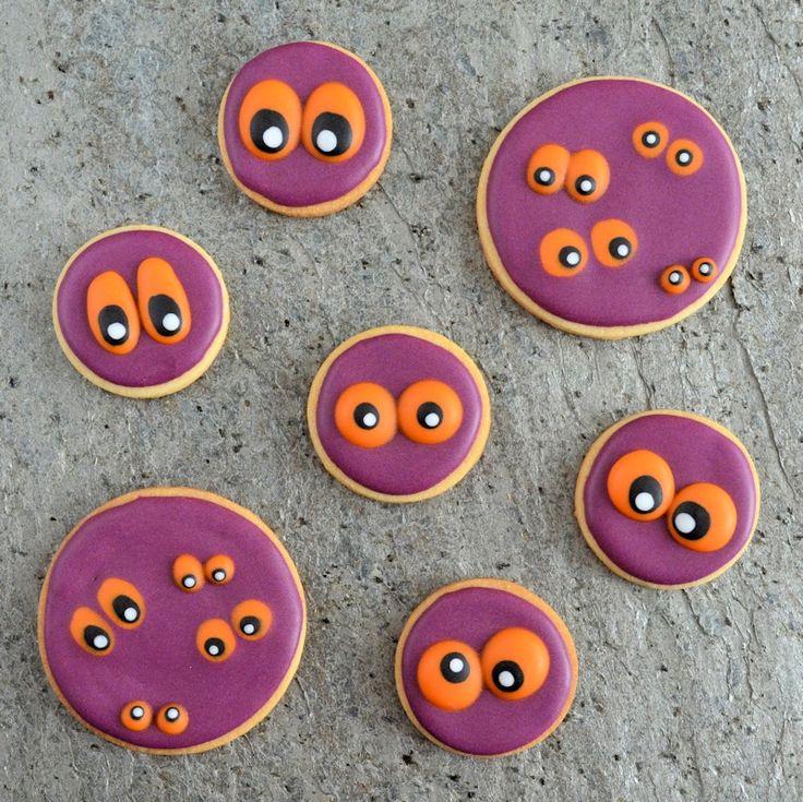 Monster ogen koekjes / Monster Eyes Cookies