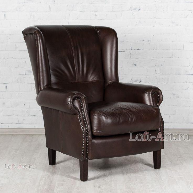 Francis II кожаное кресло - Кожаные кресла - Кресла - Диваны и Кресла В стиле Лофт купить