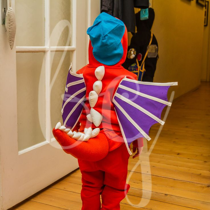 Drache Kokosnuss Kostüm
