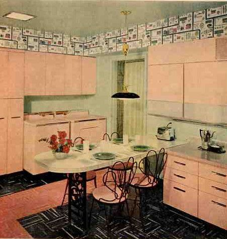 1950 S Kitchen The Color Of My Grandmother Cabinets