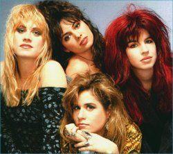 The Bangles - popular '80s girl band