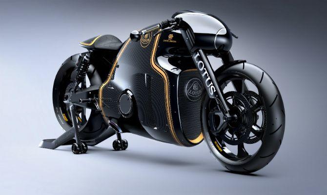 Lotus divulga dados de sua moto, a C-01 - motos - Jornal do Carro