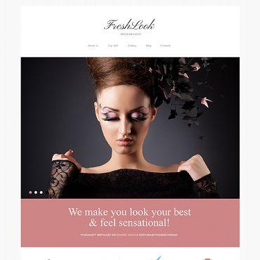 K: Fresh & simple....Hair Salon Responsive Joomla Template