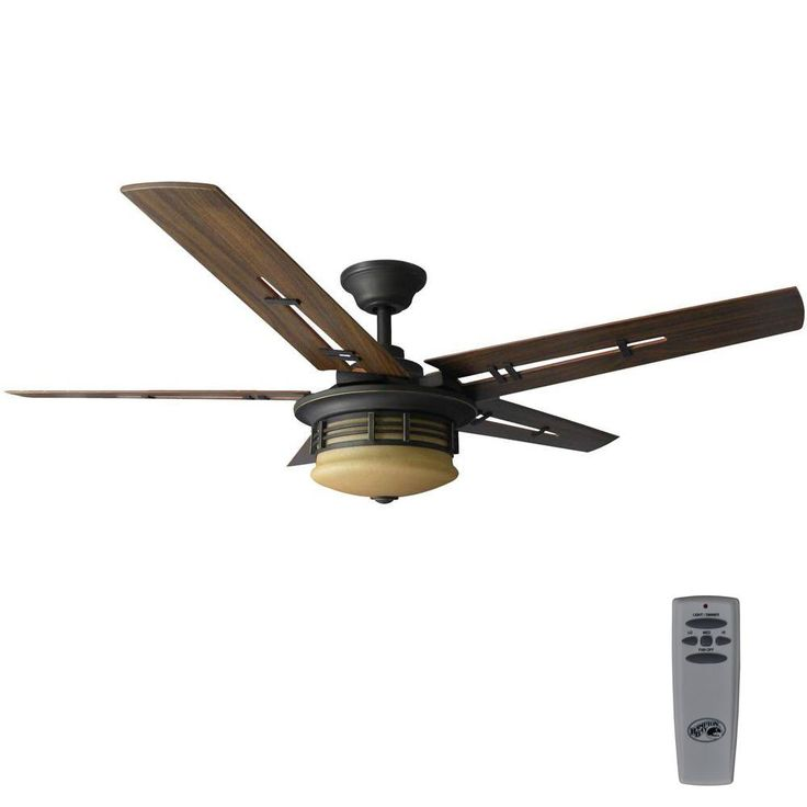 The 25 best hampton bay ceiling fan ideas on pinterest bedroom hampton bay pendleton 52 in led indoor oil rubbed bronze ceiling fan with light kit mozeypictures Images
