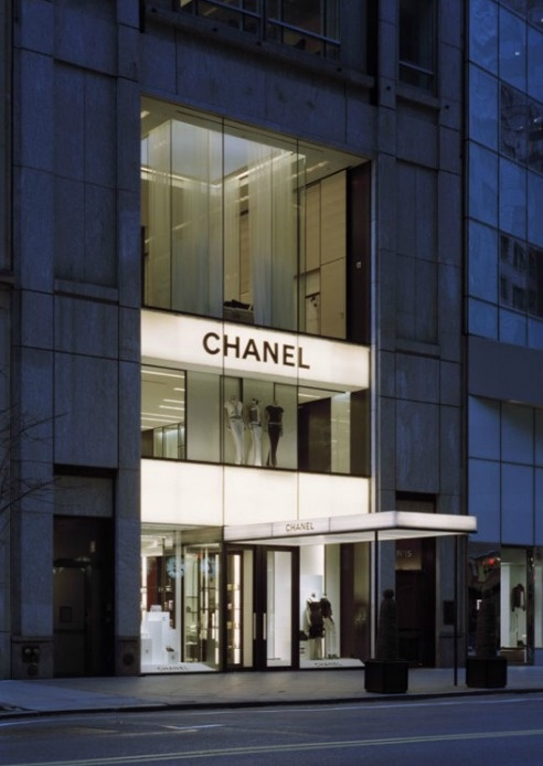 Chanel store, 57th Street, New York, designed by Peter Marino.